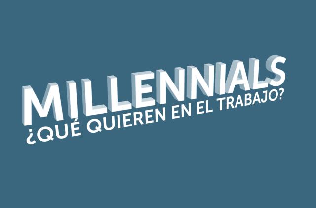 Millennials en el trabajo