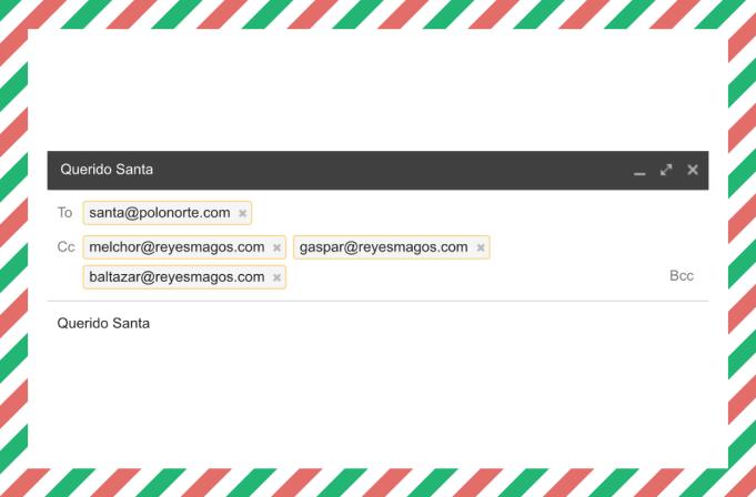 errores al enviar un correo